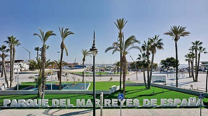 Parque del Mar Reyes de España