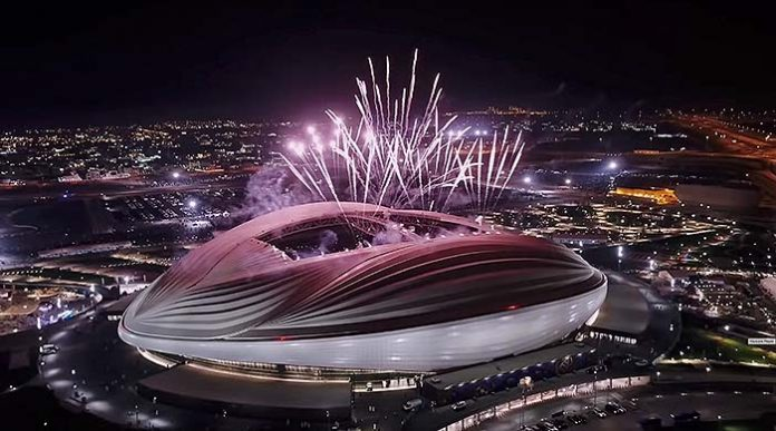 Salvi ha desarrollado e interpretado la Iluminación del Estadio Al Janoub, en Al Wakrah, Catar