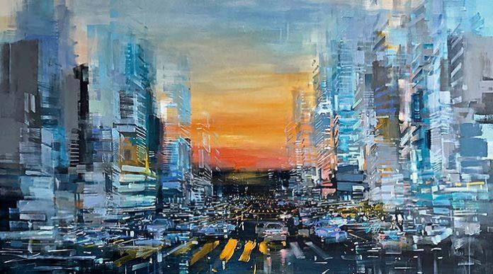 Ciudades imaginarias llenas de vida y color