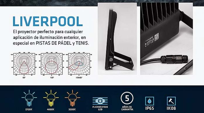 Proyector Liverpool de Threeline Technology
