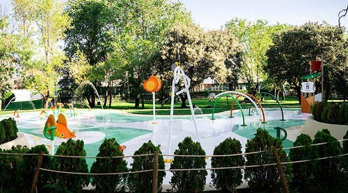 Splashpark de Moralzarzal (Madrid)