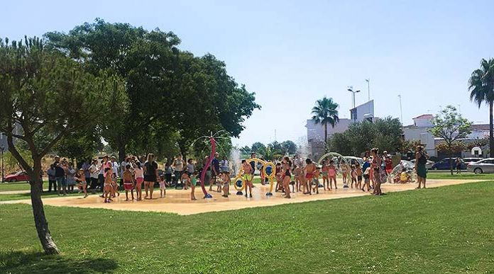 El Splahpad® en el municipio Las Cabezas de San Juan, Sevilla