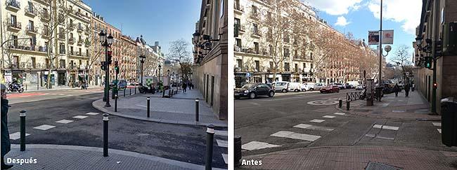 Remodelación de la calle Atocha en Madrid