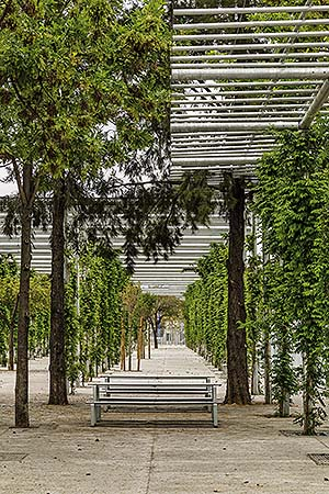 Parque Magallanes en Sevilla