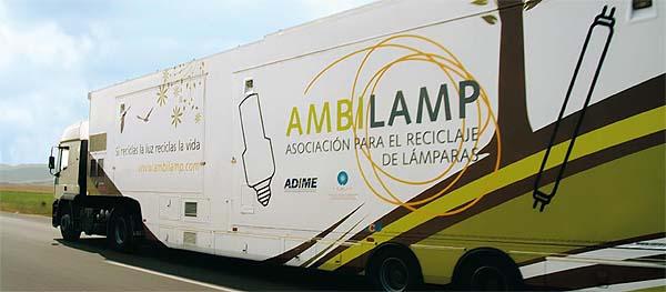 ambilamp residuos reciclar