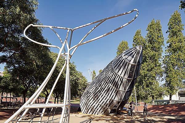 La Ballena del Parque Central de Nou Barris, Barcelona