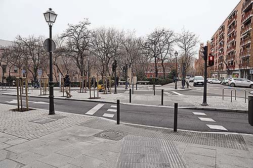 Mayor accesibilidad en las calles del distrito Centro de Madrid