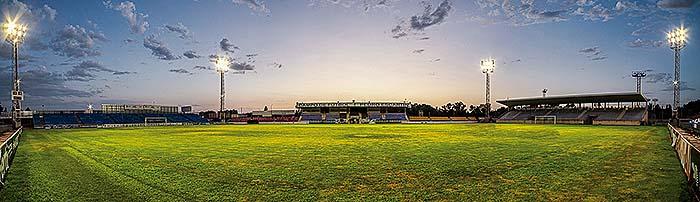 Estadio de Fútbol Pedro Escartín. Patronato Deportivo Guadalajara