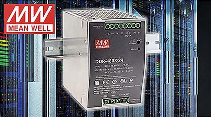 Nueva DDR-480 de Mean Well