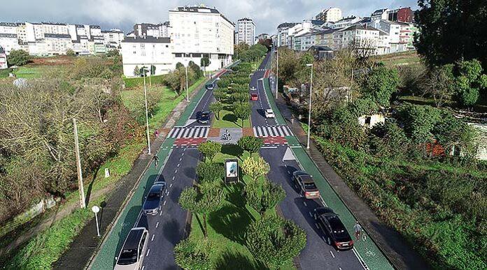 Senda ciclista de Lugo