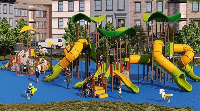 Happyludic presenta los parques inclusivos Ellipsum