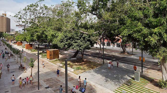 Renovación del espacio Alameda Principal de Málaga