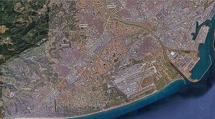 Eje cívico entre Castelldefels y Cornellà de Llobregat