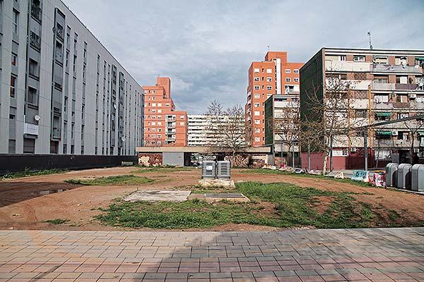 Proyecto Cívico en la Plaza Palerm del barrio del Besòs-Maresme, Barcelona